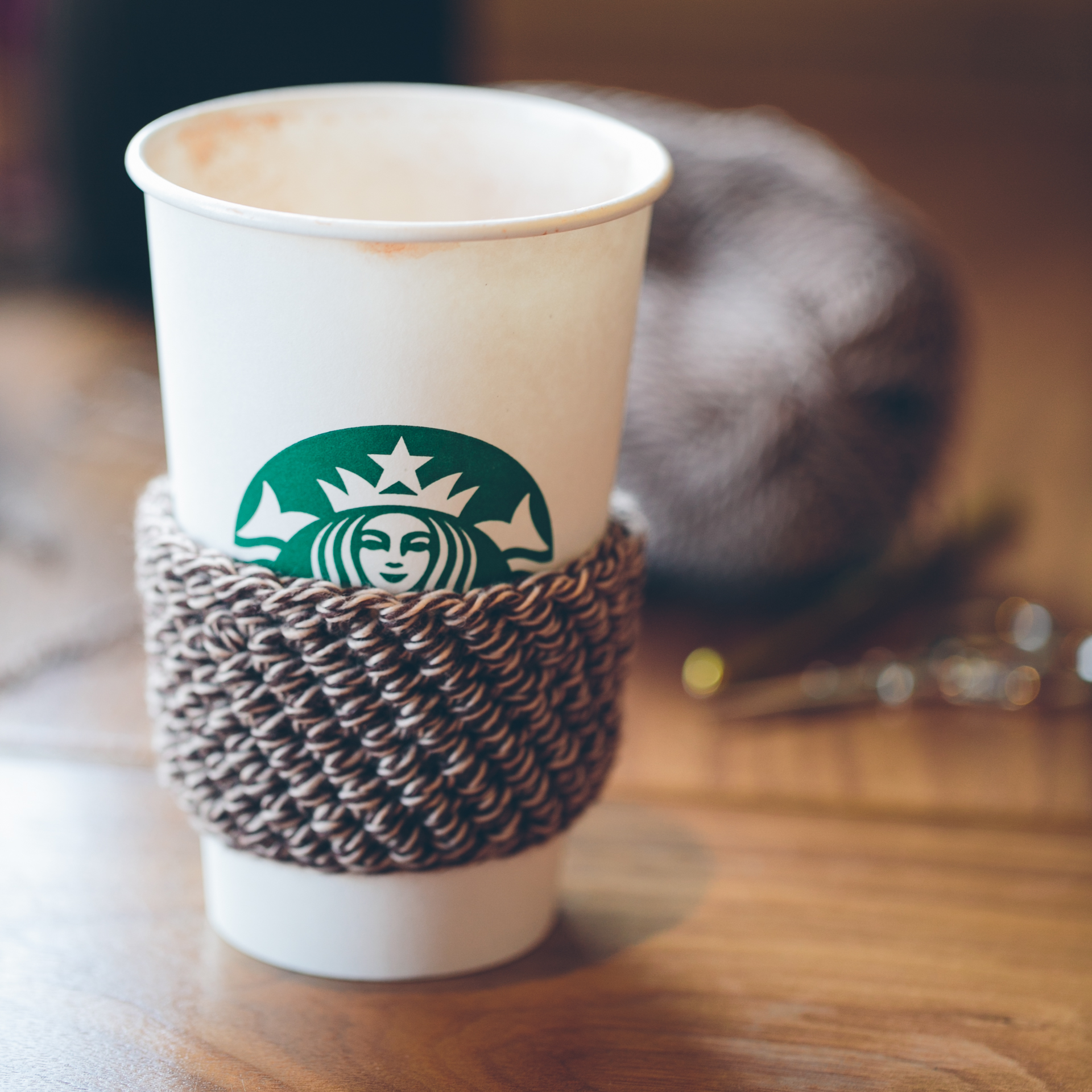Free Pattern and Tutorial: Coffee Cozy | The Firefly Hook