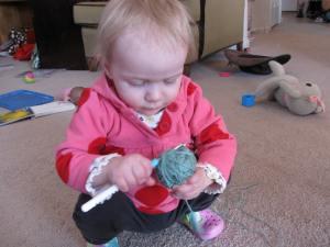 My lil baby beginner.