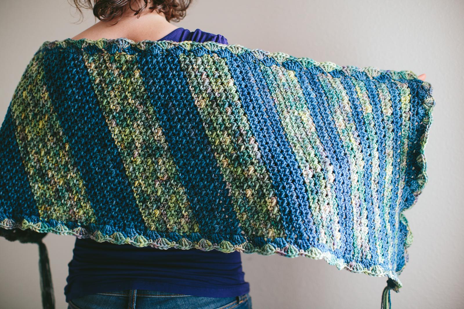 Crocheting Prayer Shawls : Prayer shawl-09