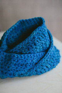 Wool Infinity scarf-05