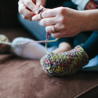 Iva's Slipper Socks: Free Pattern and Tutorial