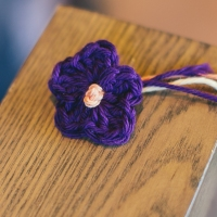 Free Pattern and Tutorial: Small 5 Petal Flower