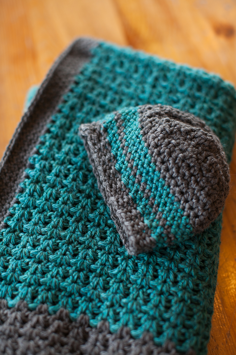 Free Pattern: Baby Blanket and Hat The Firefly Hook