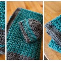 Baby Blanket and Hat Crochet Pattern