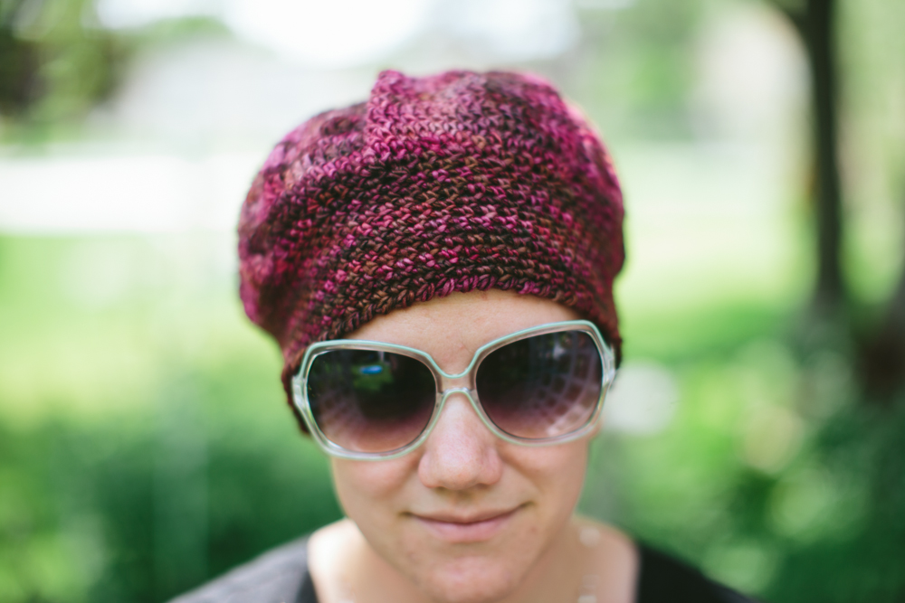 Free Pattern Dove And Peacock Chemo Caps