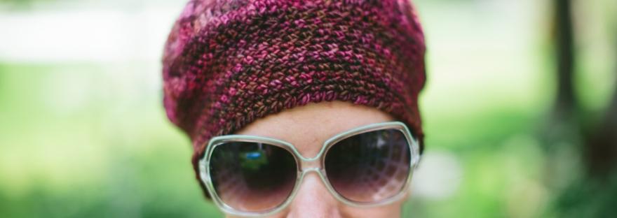 e9e458133e5 Free Pattern  Dove and Peacock Chemo Caps