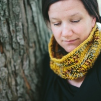 Free Pattern: Honey and Berries Cowl