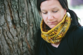 Free Pattern: Honey and Berry Cowl