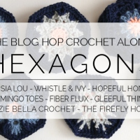 FREE Hexagon Pattern & the Blog Hop Crochet-along!