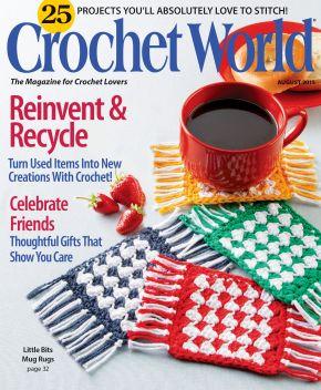 Crochet World Magazine & The FireflyHook!