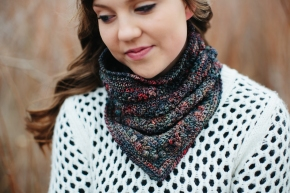 The Casper Mountain Cowl: A Malabrigo Quickie