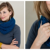 Beginner Cowl FREE Pattern & Tutorial