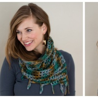 Sculpture Garden Cowl Remix: Free Crochet Pattern