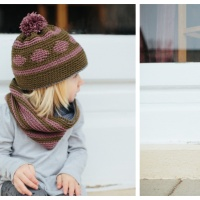 Circle of Friends Hat and Cowl - Free Crochet Pattern