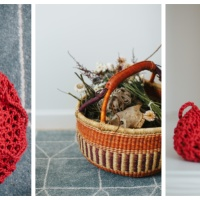 Nature Walk Treasure Bags- Free Crochet Pattern
