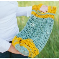 Pocket Market Bag - Free Crochet Pattern