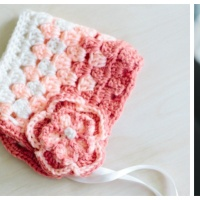 Stash Busting Pixie Bonnet - Free Crochet Pattern
