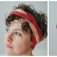 Tightrope - Free Crochet Headband Pattern