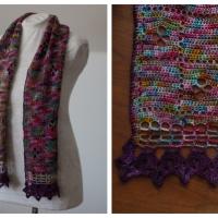 Wildflower Scarf - Free Crochet Pattern