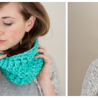 Winter Love Cowl