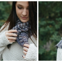 Cloudy & Cozy - A Crochet Scarf Pattern By The Firefly Hook