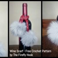 Free Crochet Pattern: Wine Scarf